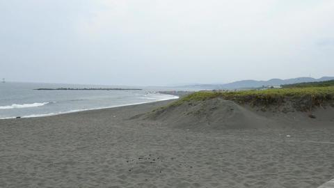 Hiratsuka sea Kanagawa in Japan ビデオ