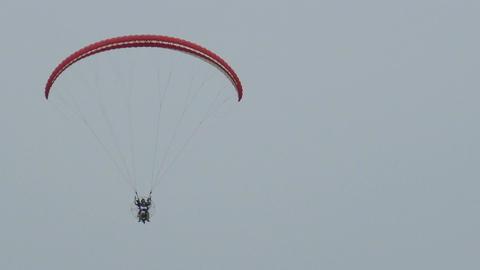 Paraglider Filmmaterial