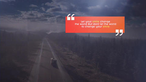 Quotes Presentation After Effects Template
