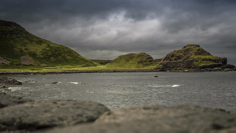 Time Lapse - Giant Causeway Head, Northern Ireland Footage