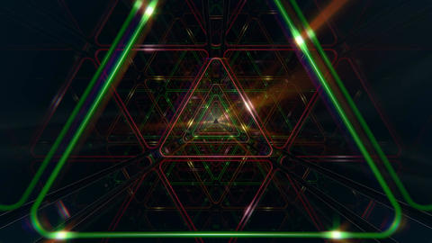 VJ Triangle Loop Animation