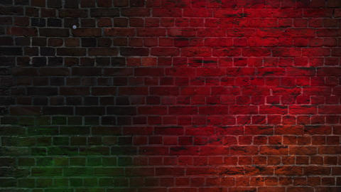 Colorful Grunge Wall Background Animation