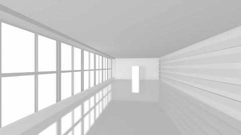 Business Office with Large Windows Animation