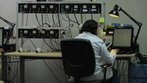 Laporatory electronics Footage