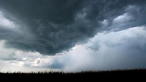 Severe Thunderstorm Lightning Illinois Live Action