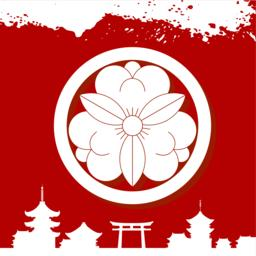 Japan culture decorative ornaments Vektor