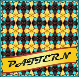 Colorful repeatable pattern background ベクター