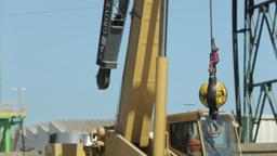 Construction crane detail Live Action