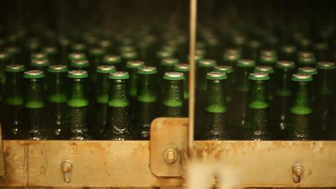 Bottle conveyer belt Footage