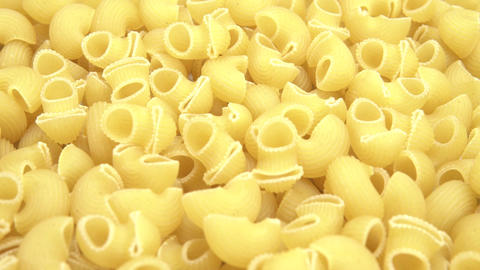 Curved macaroni. Smooth movement of the motorized slide, on the Curved macaroni Live Action