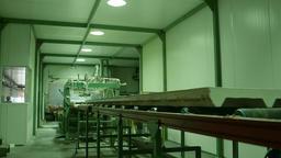 Factory transport line Footage
