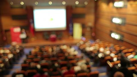 Auditorium seminar Live Action