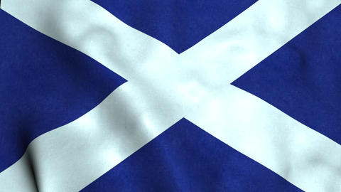 Scotland Flag Animation