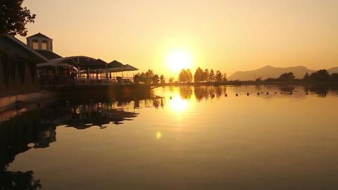 Lake hotel Footage
