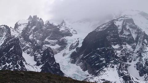 Torres del Paine national park Footage