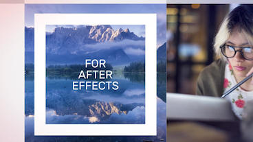 Chroma Squares Dynamic Slideshow After Effects Template