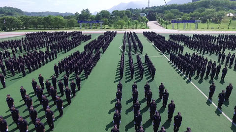 Republic of Korea Central Police Academy training video 13 Footage
