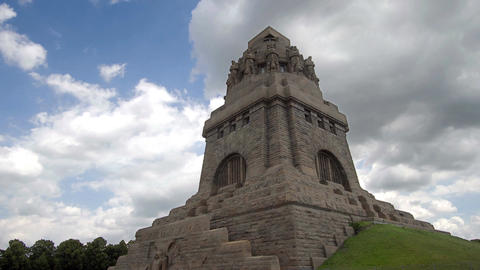 Battle of Nations Monument Timelapse Archivo