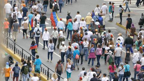 Protest for freedom in Venezuela, Against communism, Against socialism ビデオ
