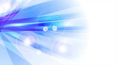 Blue shiny abstract stripes animated background Animation