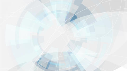Blue and grey digital technology futuristic video animation Animation