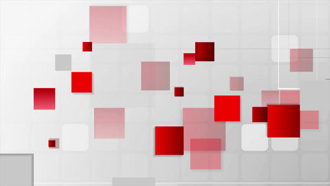 Abstract futuristic technology red grey video animation 画像