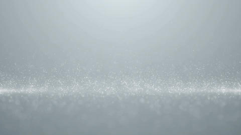 Particles white business bright glitter bokeh dust abstract background loop Animation