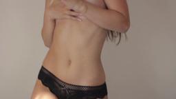 Erotic thin girl. Sexy girl Footage