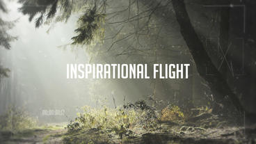 Inspirational Flight Intro After Effects Template