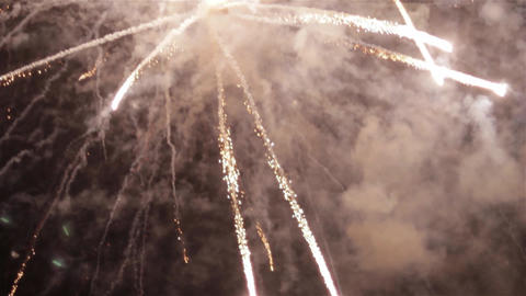 Fireworks in the sky celebrating lunar new year 18 Footage
