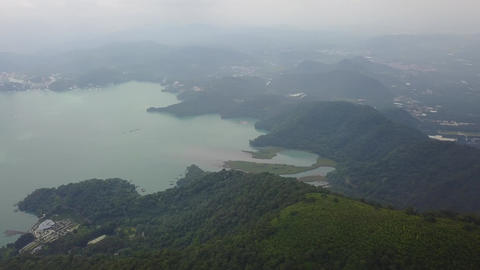 Taiwan Chiayi Aerial Video Nantou ShueiShe mountain Sun Moon Lake 20170723 4 画像