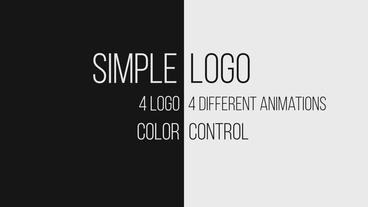 Simple logo Plantilla de After Effects