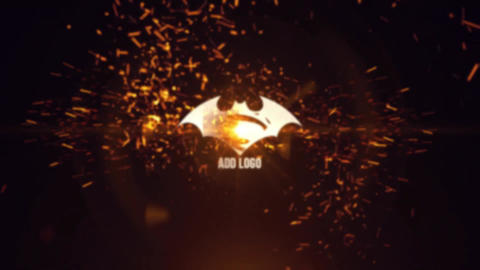 Sparks Logo Reveal Premiere Pro Template