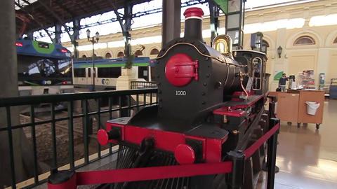 Train station Footage