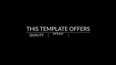 20 Elegant Corporate Titles Motion Graphics Template