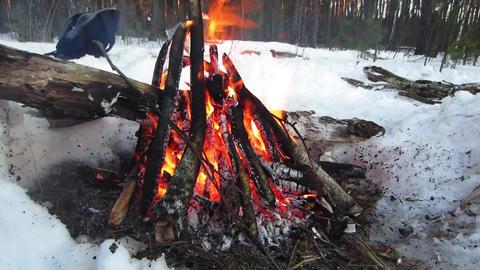 Winter Fire Filmmaterial