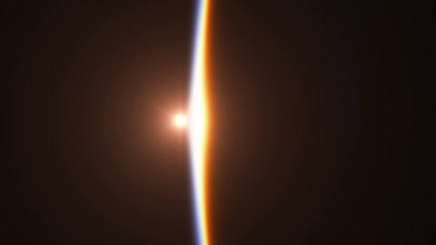 Realistic Sunrise Over The Earth. 3840x2160. 4K Animation