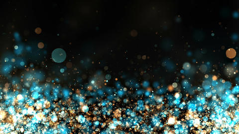 Glitter Particles Background Loop Animation