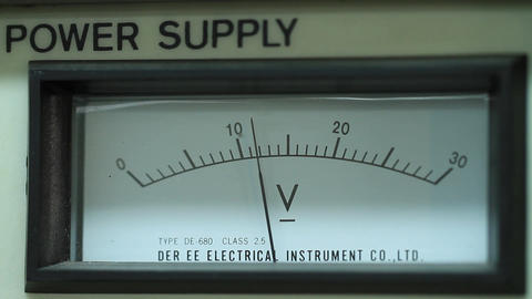 Needle reading power supply Footage