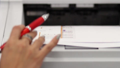 Printing document Footage