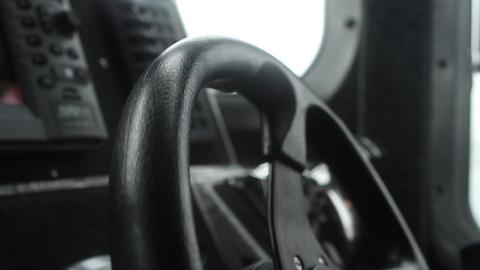 Hands on steering wheel Footage