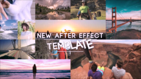 Stomp MultiPhoto Logo After Effects Template