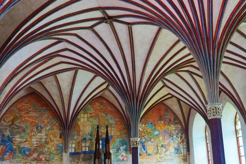 Interior of Malbork Castle Poland フォト