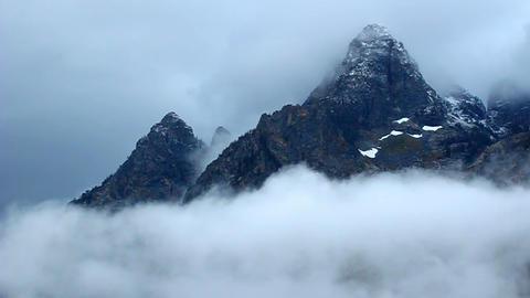 Teton Range Wyoming Footage