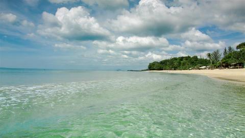 Thailand island beach Footage