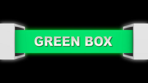 green open box PNG Animation