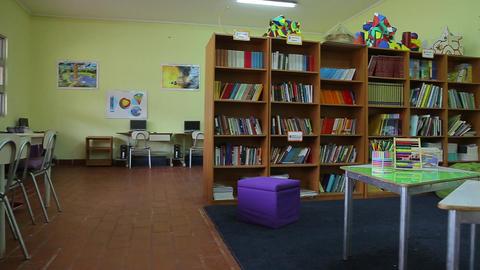 Children's library Footage