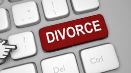 Divorce keyboard key animation Live Action