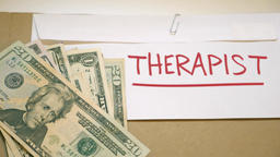 Therapist cost concept Footage