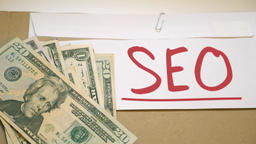 Search engine optimization concept Footage